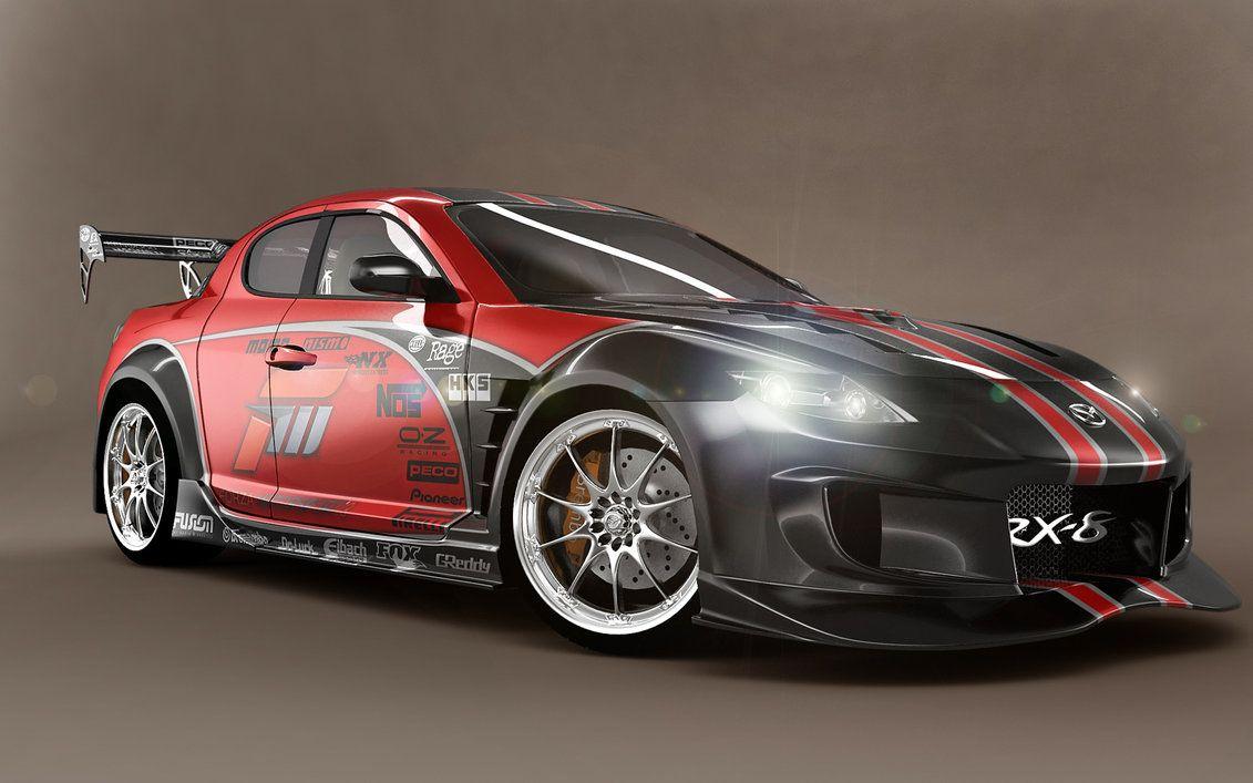 Mazda RX8 Race Car HD Wallpapers | Car Wallpapers | Věci, které ...
