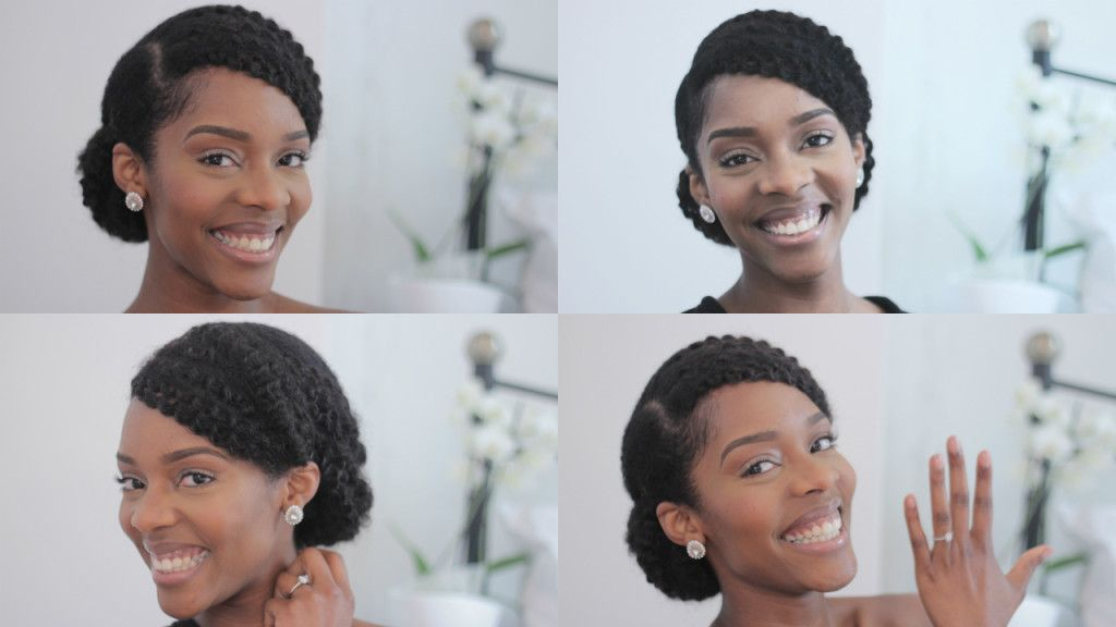 Natural Bride Hairstyle Prep For My Big Day Natural Hair Bride Natural Hair Styles Natural Bridal Hair