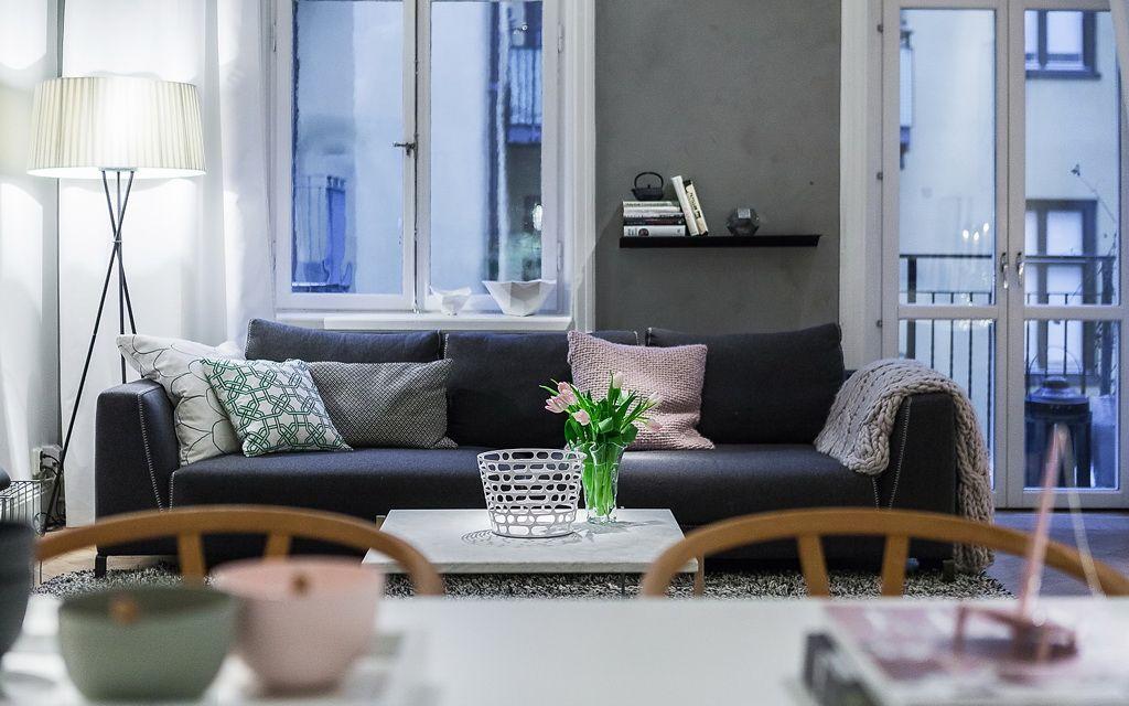 Binnenkijken Scandinavische stijl ingericht appartement