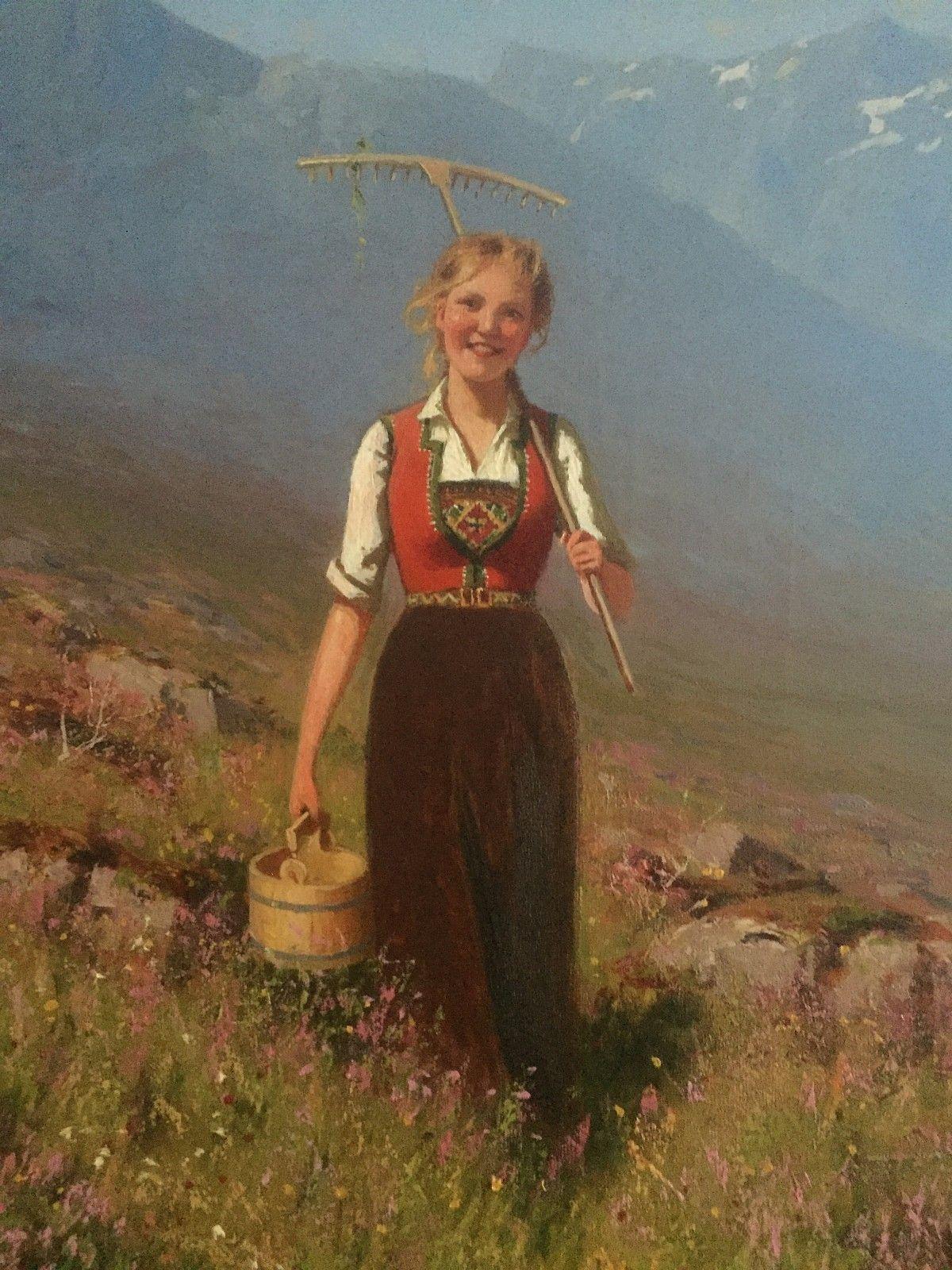 (6) FINN – Oljemaleri av Hans Dahl