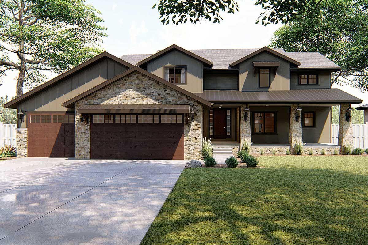 Plan dj unique twostory traditional home building a dream