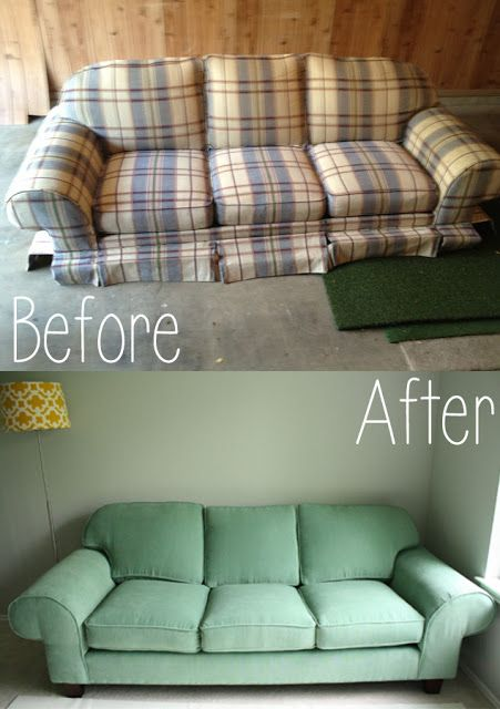 How To Recover A Sofa Chair Build Table Plans Recovering Couch Can Bring It Back Life Thishouseisourhome Blogspot Com