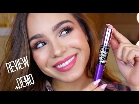 17673e81f61 Maybelline Falsies Push Up Angel Mascara Review + Demo | Comprar