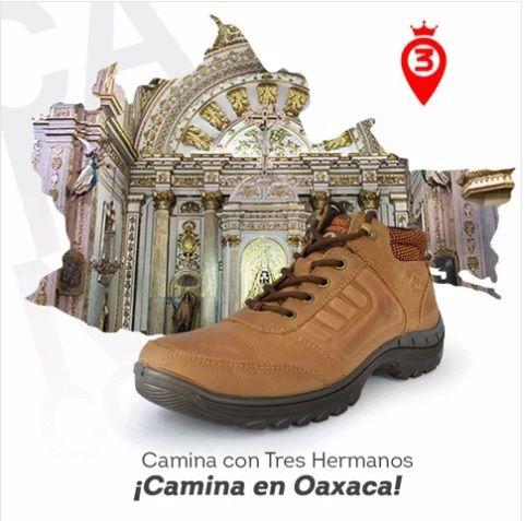 Conoce #Oaxaca con el mejor calzado para tus #aventuras solo en #3Hermanos  #ViveMexico #CaminaCon3Hermanos #Mexico