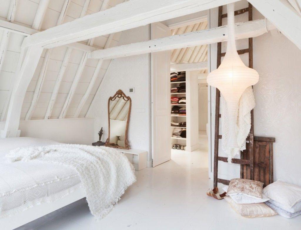 witte houten vloer slaapkamer - google zoeken - zolder-trap, Deco ideeën