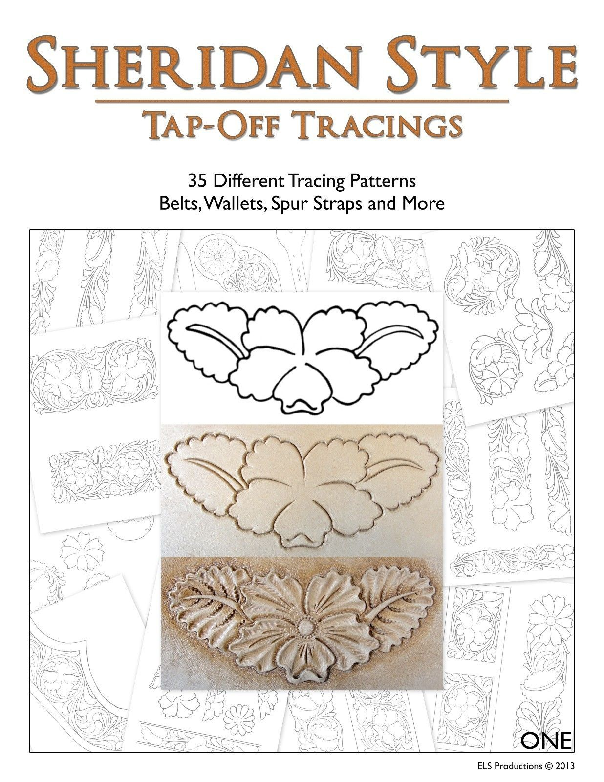 Sheridan Style Tap-Off Tracings - 35 Different Patterns [Digital Download]