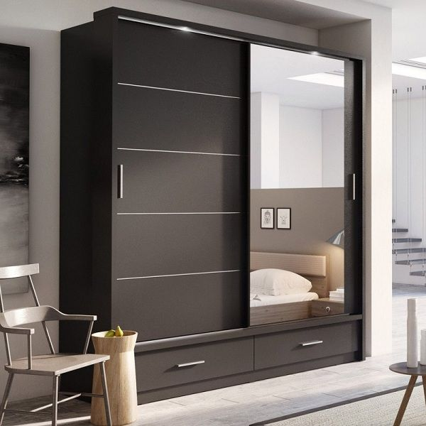 10 Latest Sliding Wardrobe Designs With Pictures In 2021 Wardrobe Design Bedroom Bedroom Closet Design Bedroom Furniture Design Bedroom wardrobe design 2021