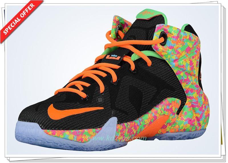Buy Cheap Mens 685184-008 Nike LeBron 12 GS