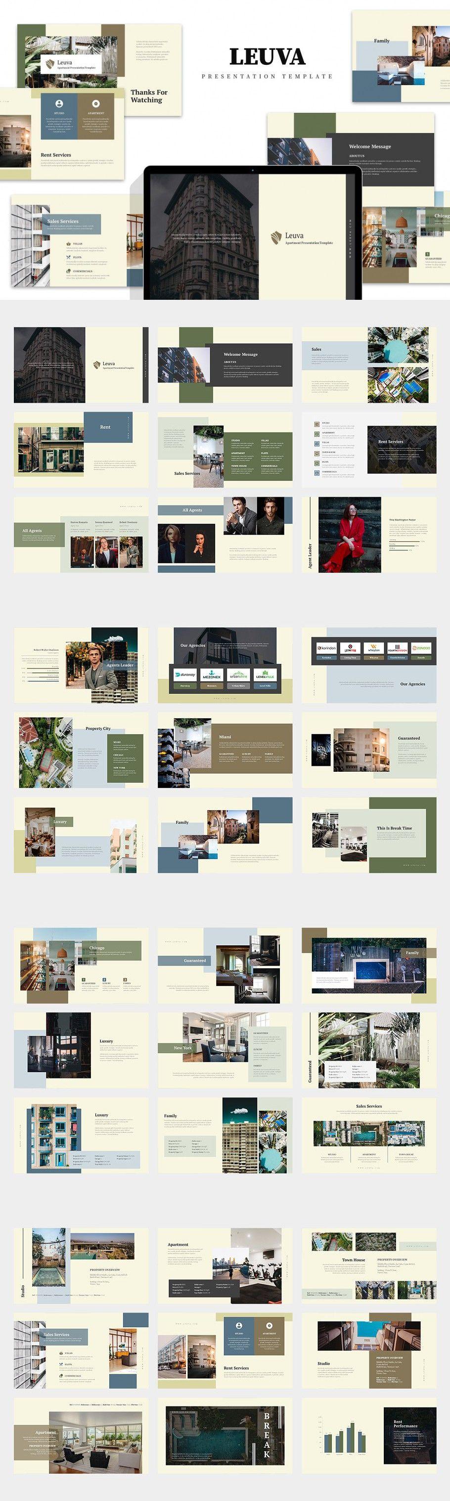 Lueva : Apartment Agent Keynote in 2020 | Presentation ...