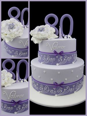 Another Idea For Bettys Birthday Cakes Women 80th Cake Grandma