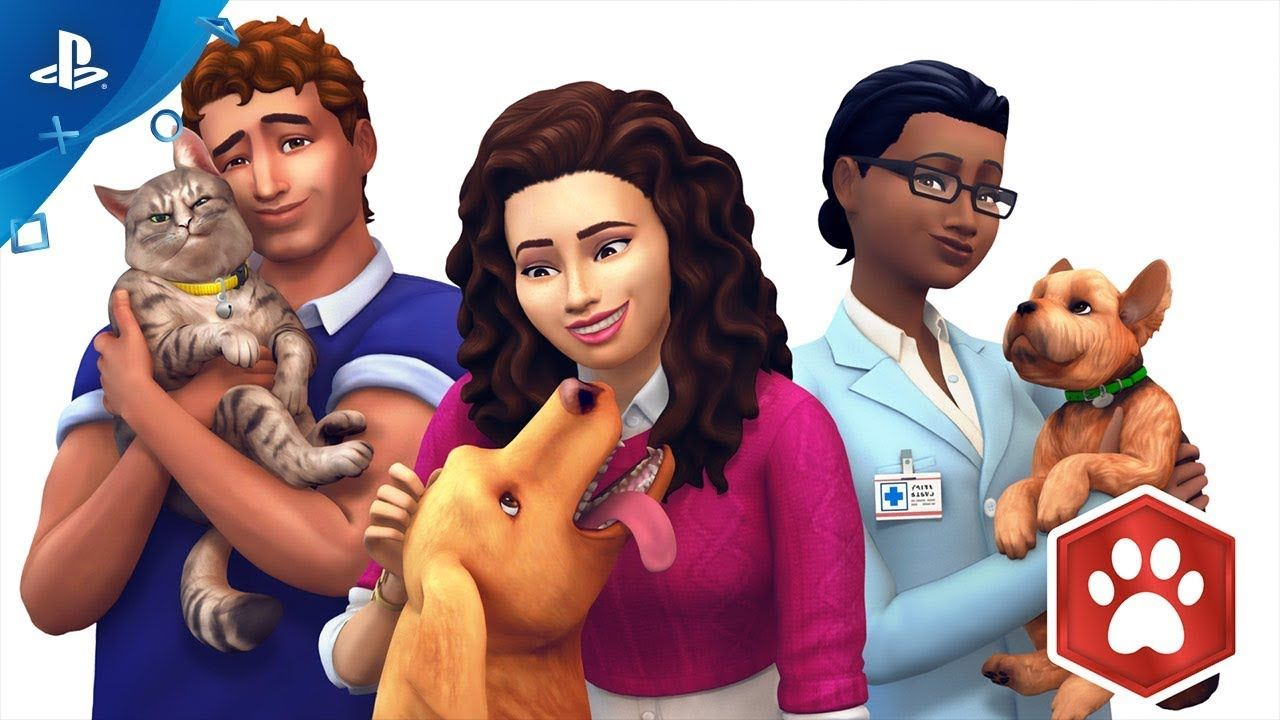 The Sims 4 Cats & Dogs Bundle Trailer Dogs, Sims 4, Cats