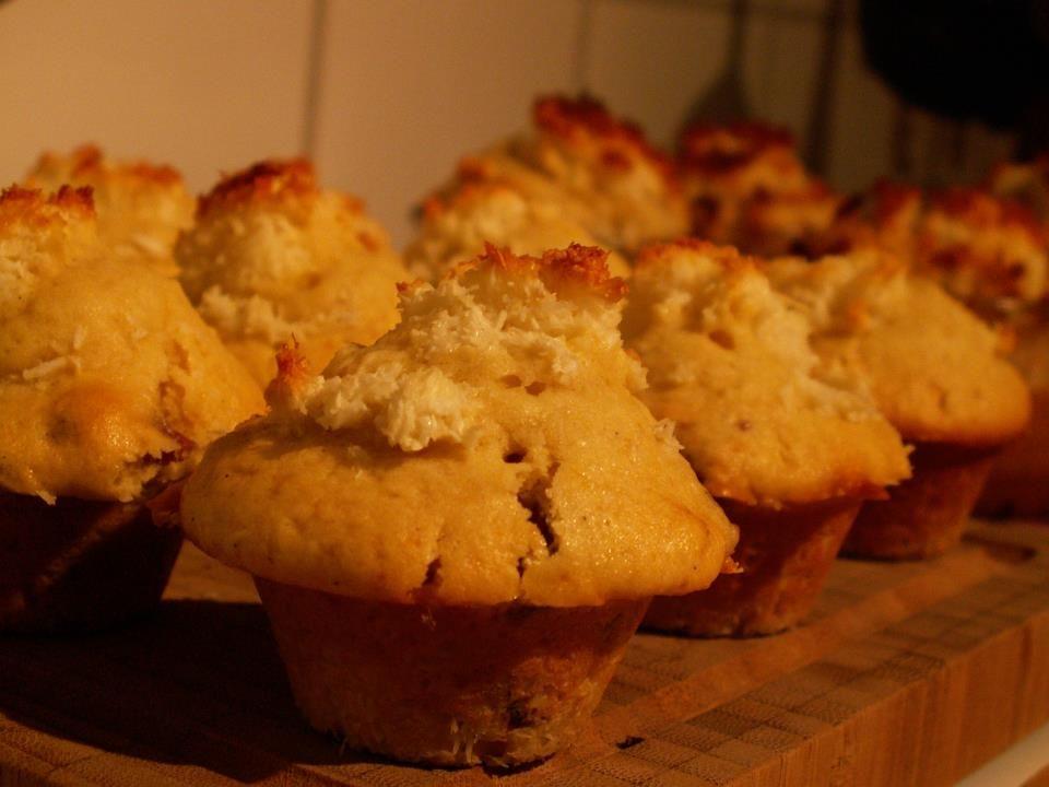 Kokosmakronenmuffins