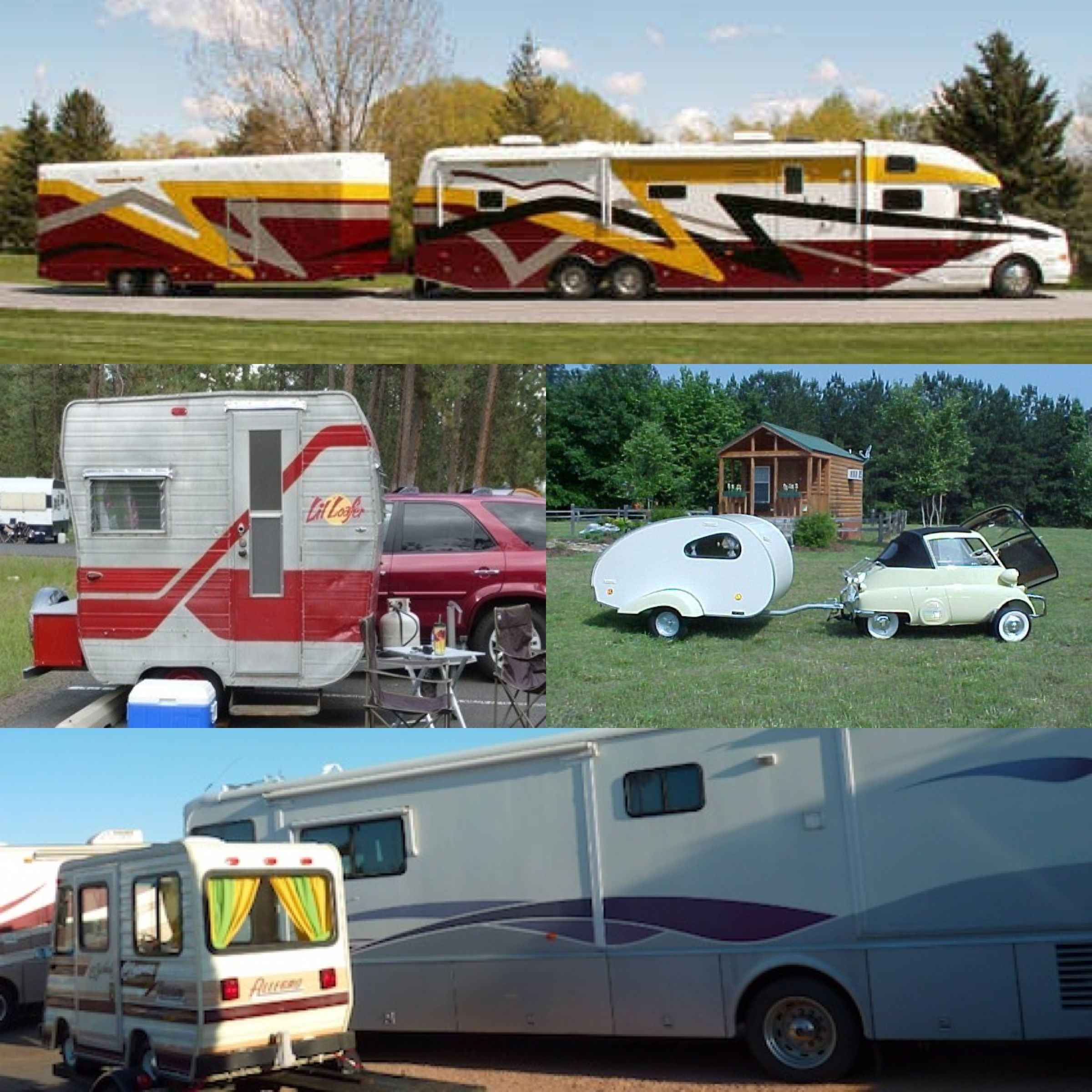 When It Comes To An Rv Camper Or Just Camping In General When Is Too Big Too Big And When Is Too Small Just Way Too Small Wohnwagen Wohnen Wohnraum
