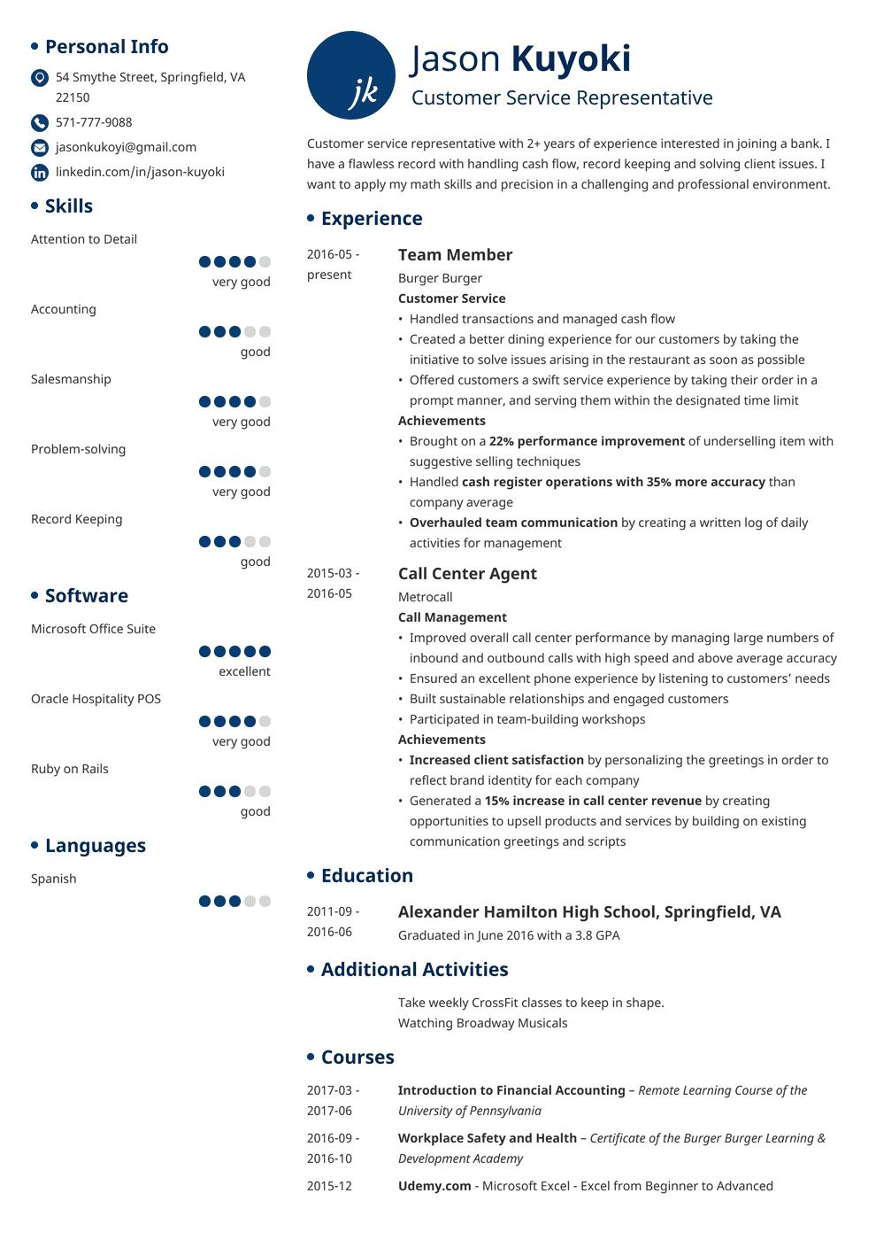 bank teller resume template initials in 2020 Medical
