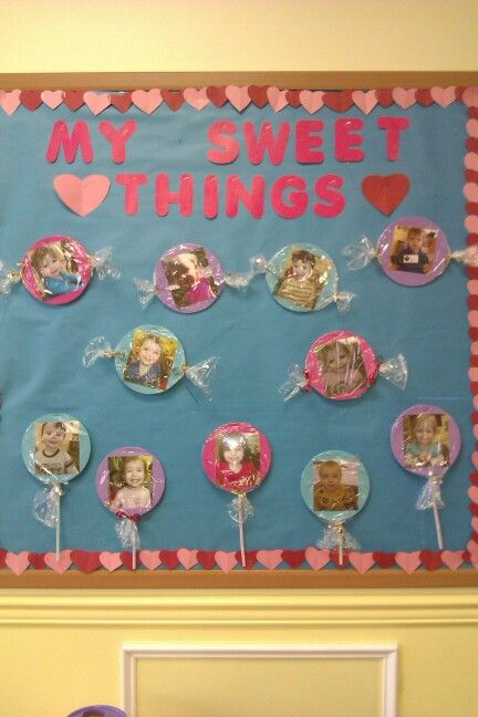 Toddler Classroom Valentine Ideas : Valentines bulletin board classroom kids pinterest