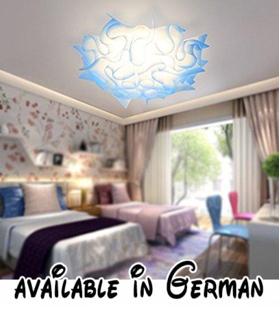 KANG@ Moderne Deckenleuchte Leuchte für Schlafzimmer, Wohnzimmer - moderne deckenleuchten fur wohnzimmer