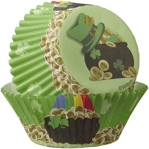 Wilton St. Patrick's Day Cupcake Decorating Kit, 24-Count