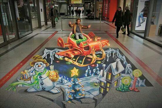 supersonic Christmas sledge