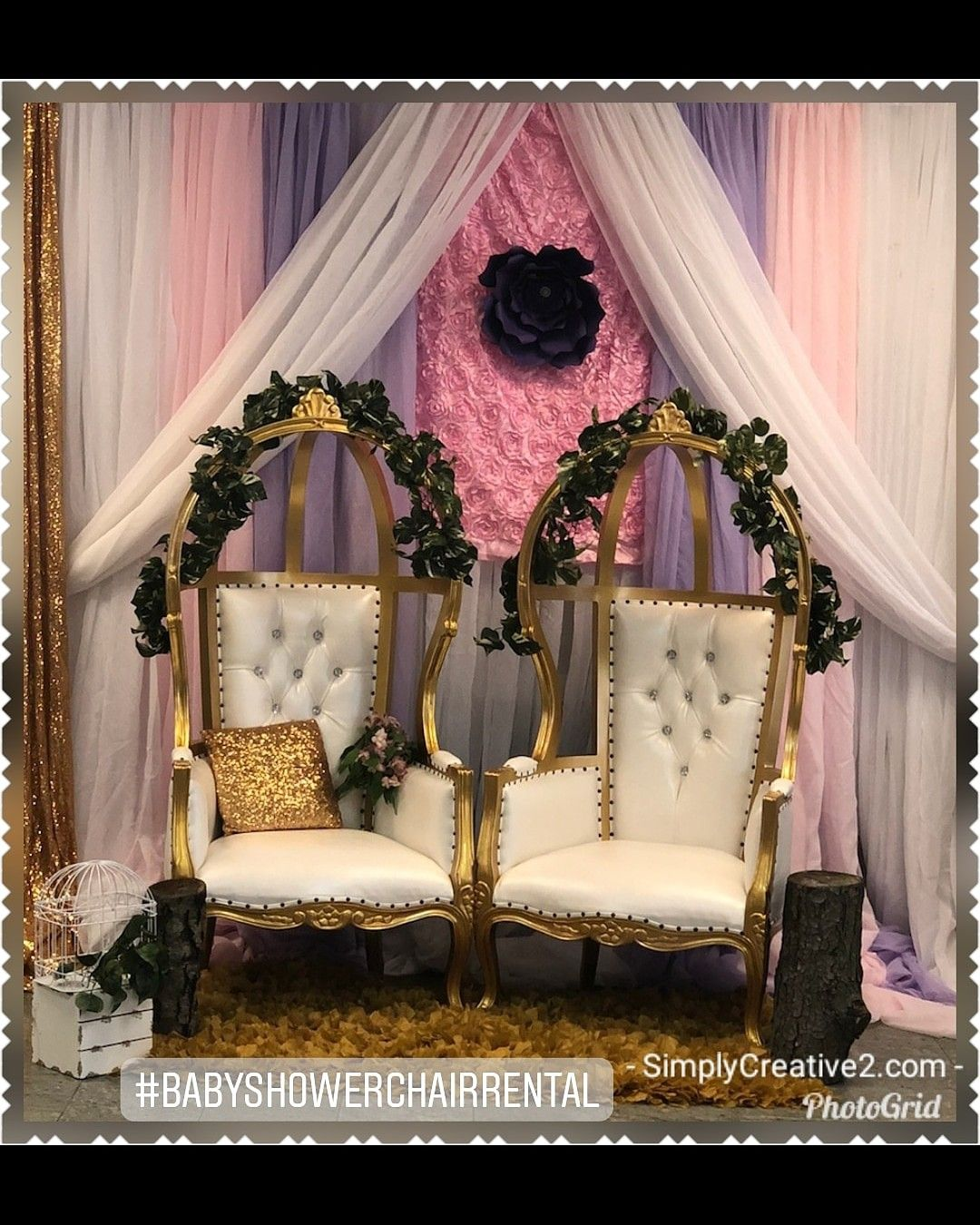 Park Art|My WordPress Blog_Royal Chair Rental For Baby Shower