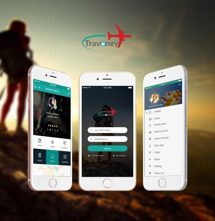 I have designed and developed this application travoney
