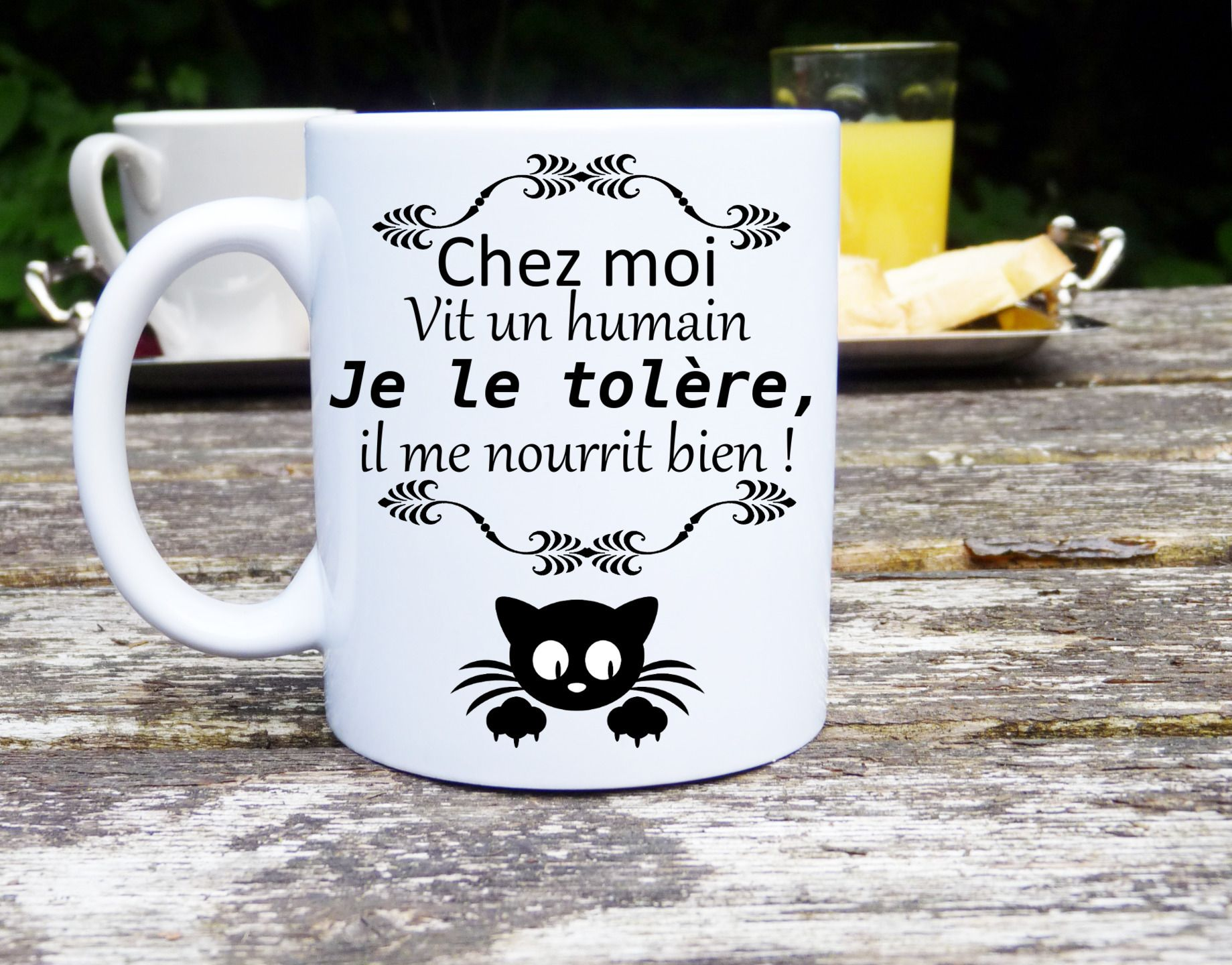 humour chat mug chat humour mug original et. Black Bedroom Furniture Sets. Home Design Ideas