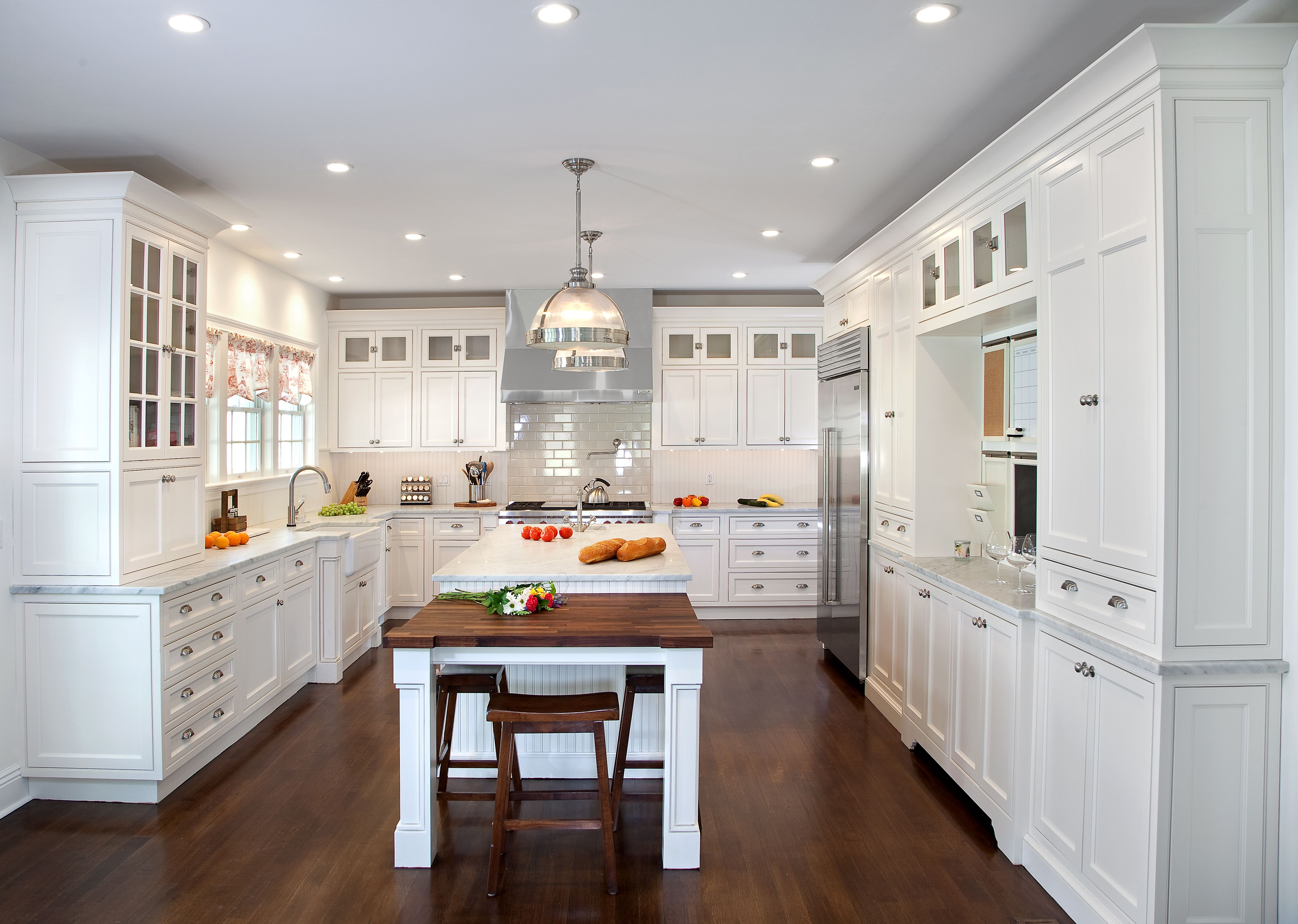 Warwick, NY kitchen by Kuche+Cucina. Modern-Traditional or like many ...