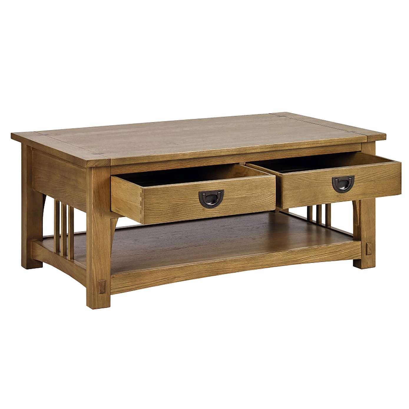 Dorma Cheltenham Oak Coffee Table Dunelm