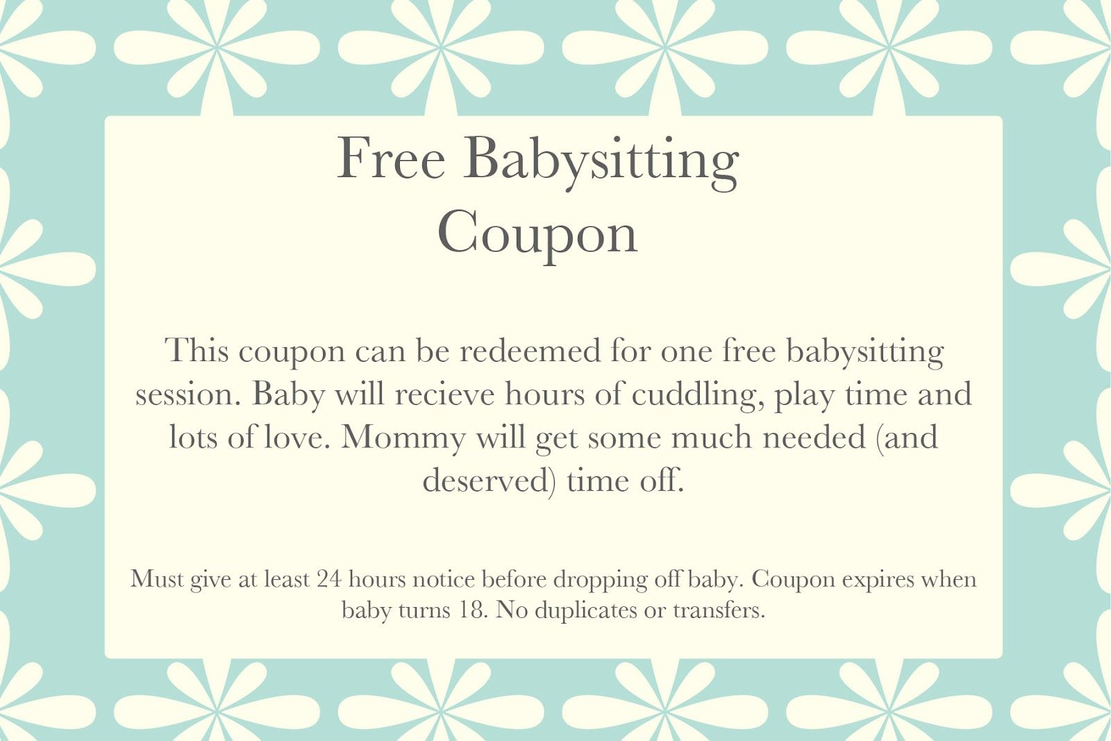 17 best images about babysitting printable 17 best images about babysitting printable easy date and goods and services