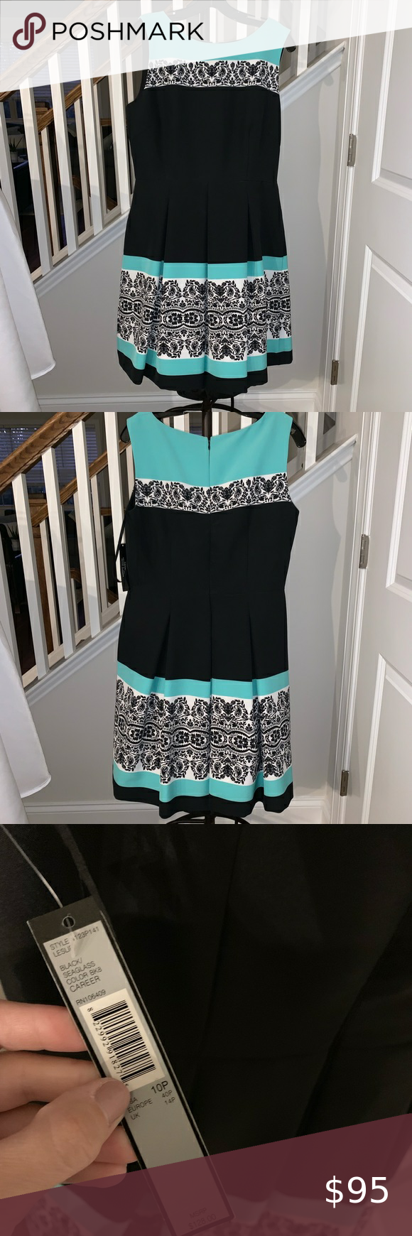Nwt Tahari Arthur S Levine Cocktail Dress Brand New Dress With Tags Purchased And Can Not Return Never Worn Size Clothes Design Cocktail Dress Dress Brands [ 1740 x 580 Pixel ]