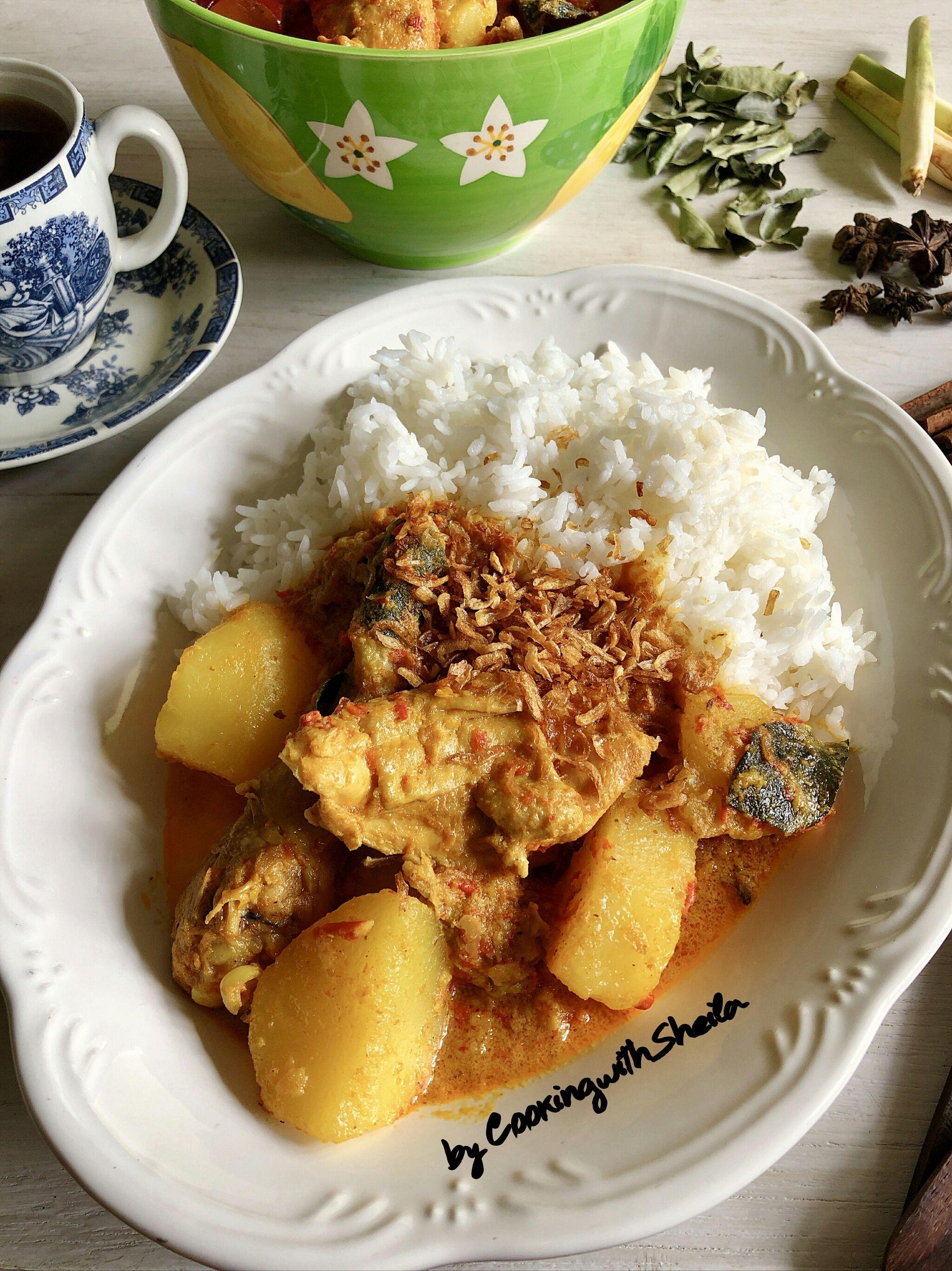 Nyonya Chicken Curry Kari Ayam Resep Masakan Malaysia Resep Masakan Indonesia
