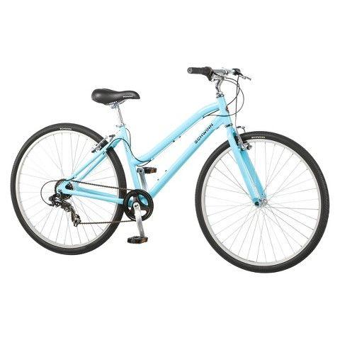 Schwinn Womens Median 28 700c Hybrid Bike Powder Blue Target 199 99