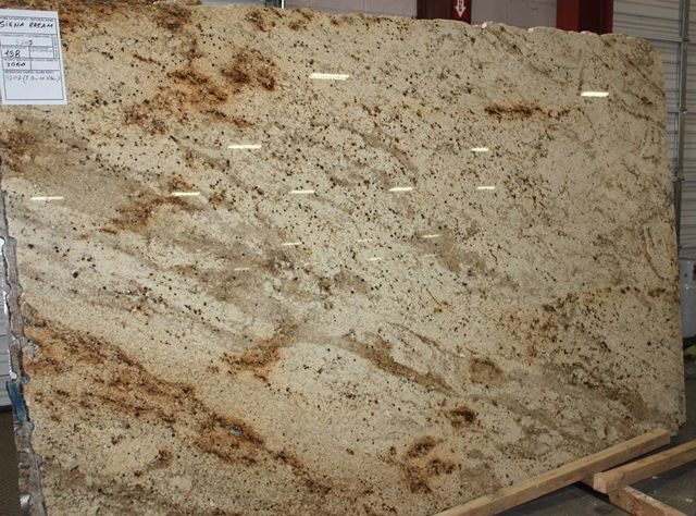 Kitchen Cabinets Colors With Siena Beige Granite