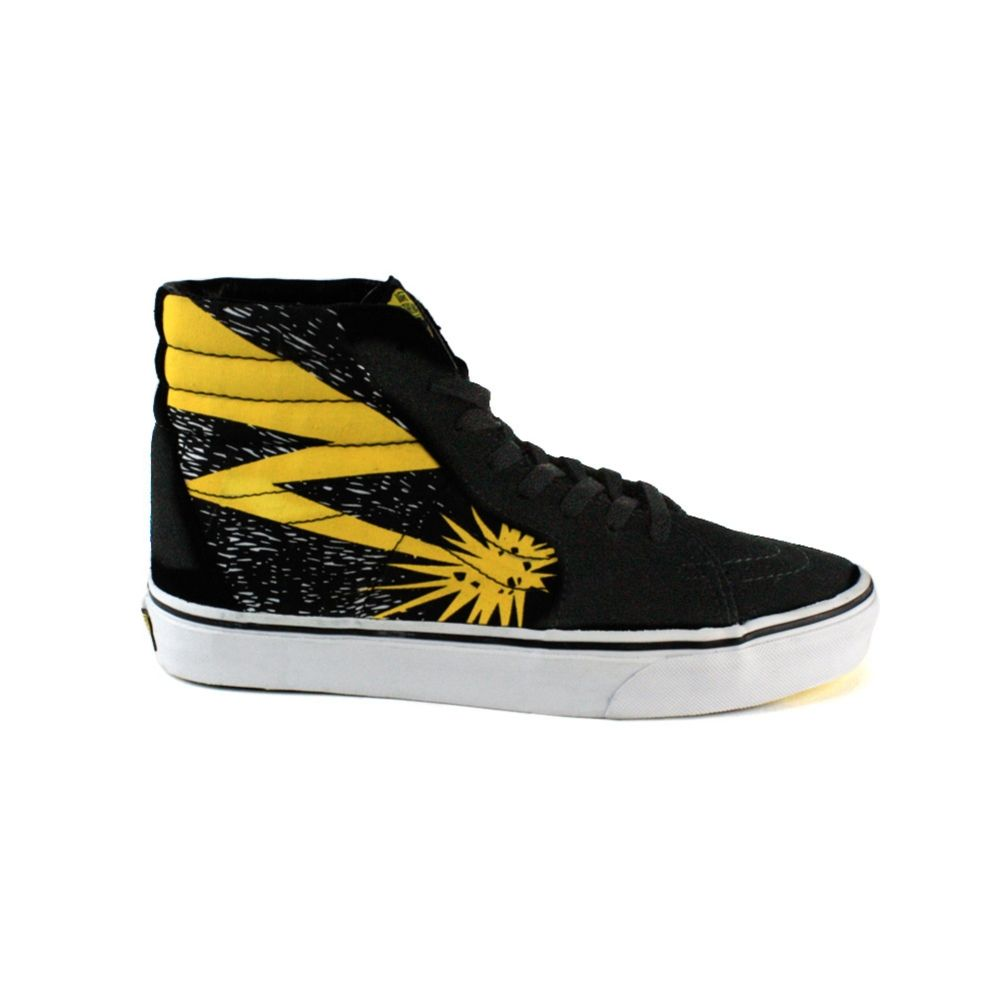 0e0b76be651 Vans Hi-Top Bad Brains lightening bolt limited edition!
