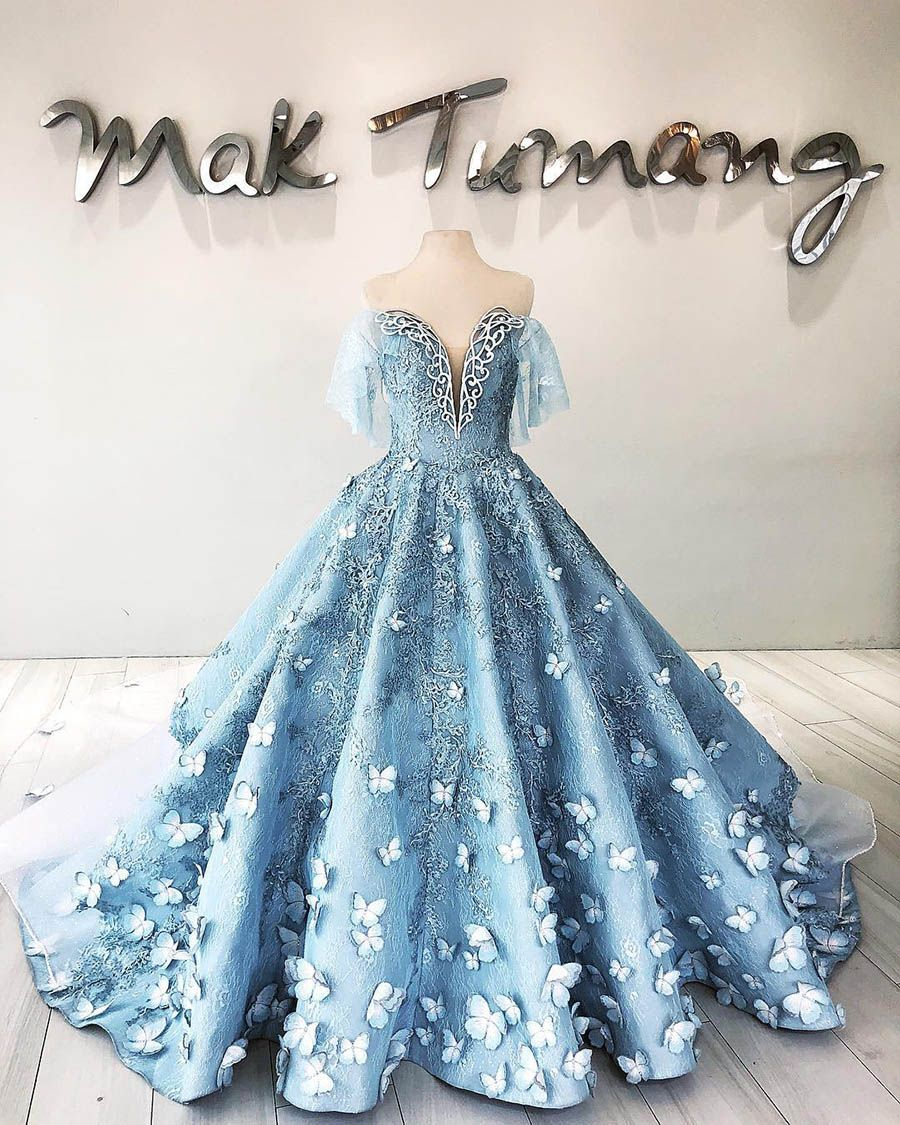 Mak Tumang The Sensational Wedding Dress Designer You Need To Know Ball Dresses Ball Gowns Gowns