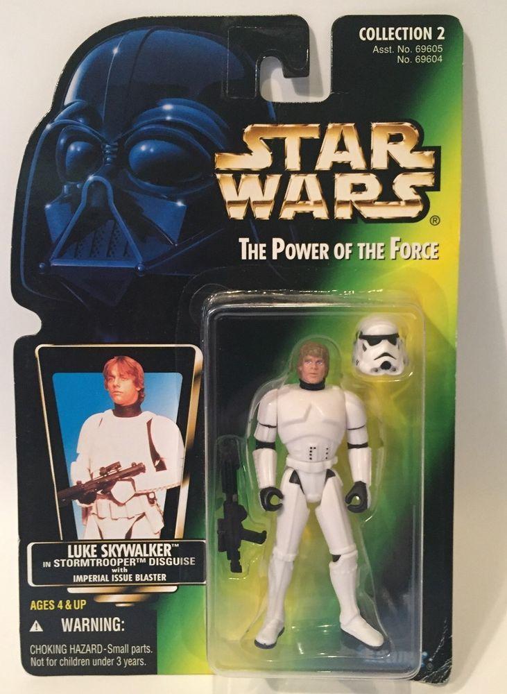 Han Solo Stormtrooper Disguise Vintage Kenner Star Wars PotF MOC