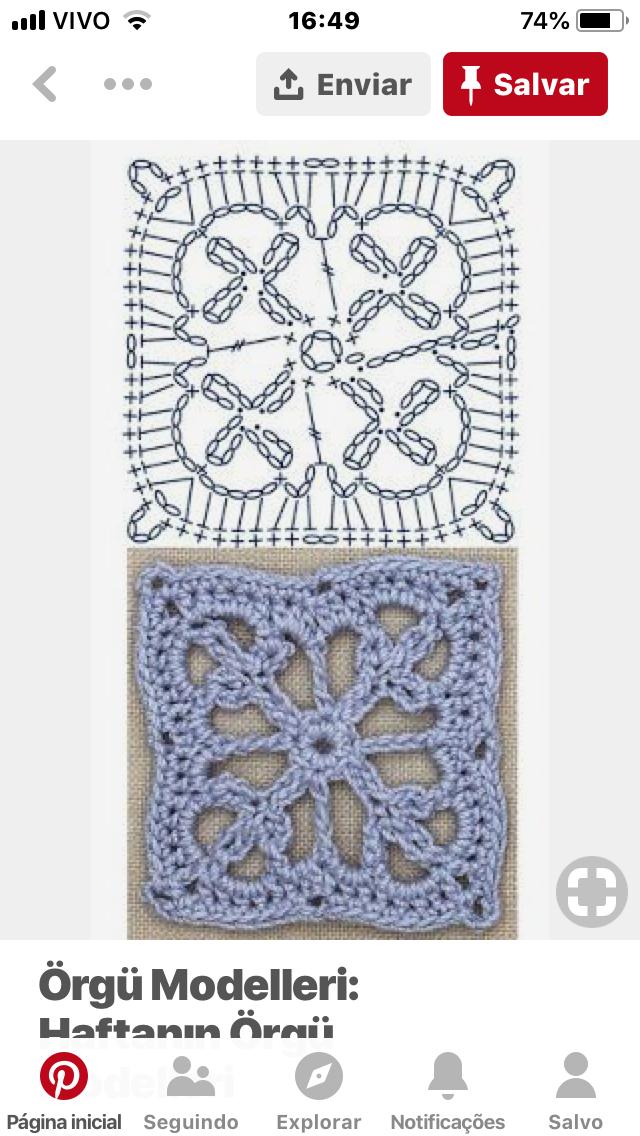Pin de Iran Pfeiler en Needles & Yarns | Pinterest | Croché ...