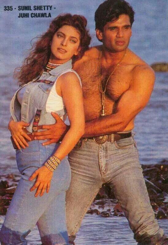 Image result for suniel shetty 90s