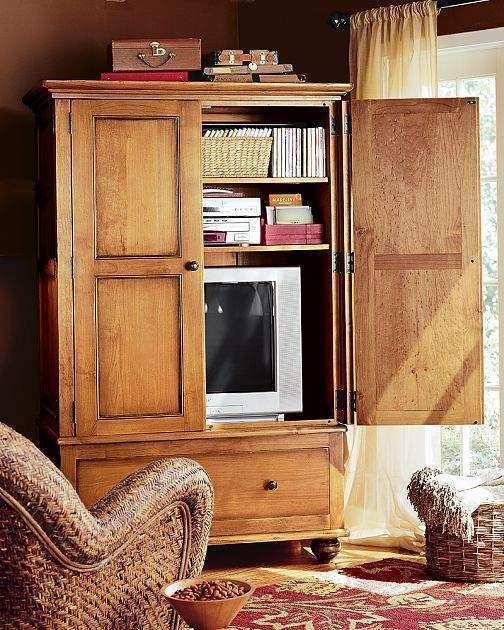Mueble antiguo para ocultar tv plana buscar con google - Mueble ocultar tv ...