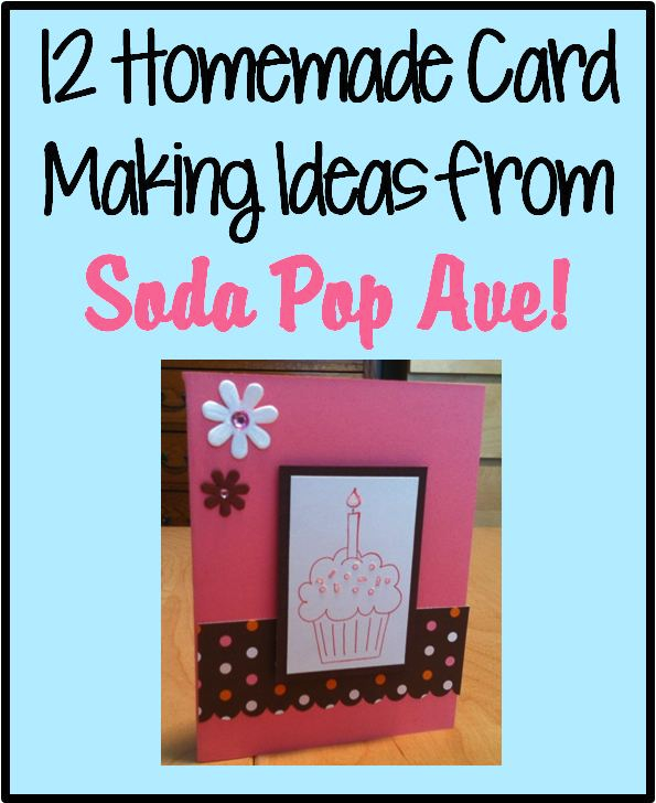 Card Making Patterns Ideas Part - 19: Check Out A Full Dozen Card Making Ideas To Get Your Creative Juices  Flowing From Soda