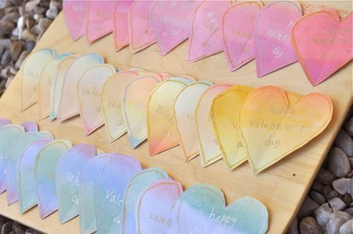 Heart & Love ~ The Value of Making Valentines for the 2nd grader