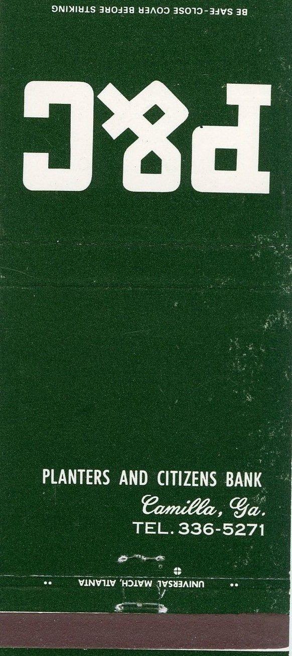 44 Planters And Citizens Bank Camilla Ga Loan Company