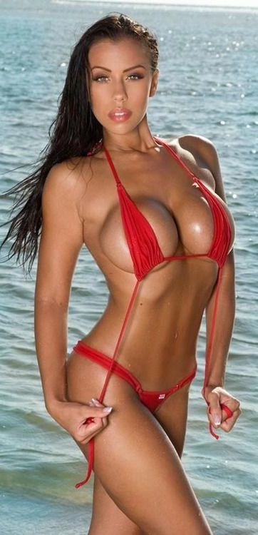Hot girls in micro bikini