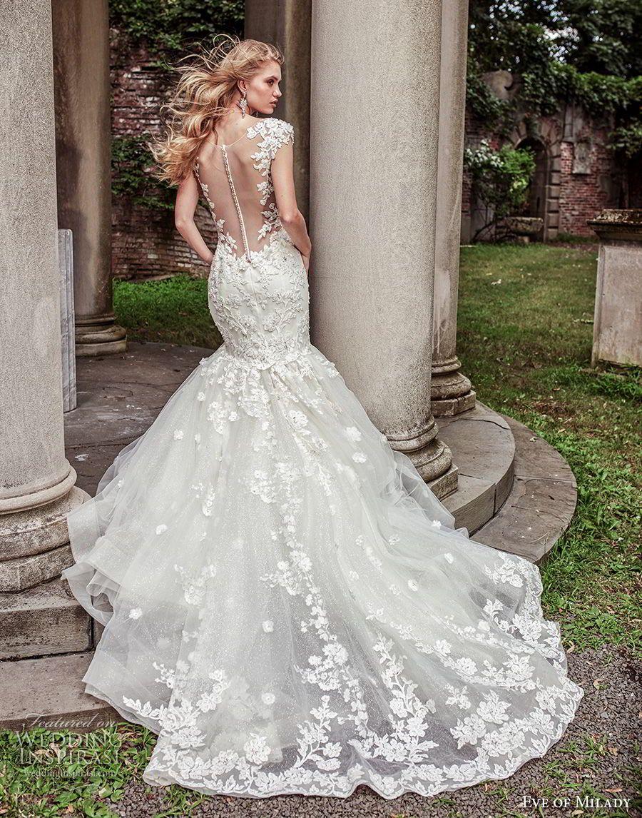 Elegant Mermaid Wedding Dresses