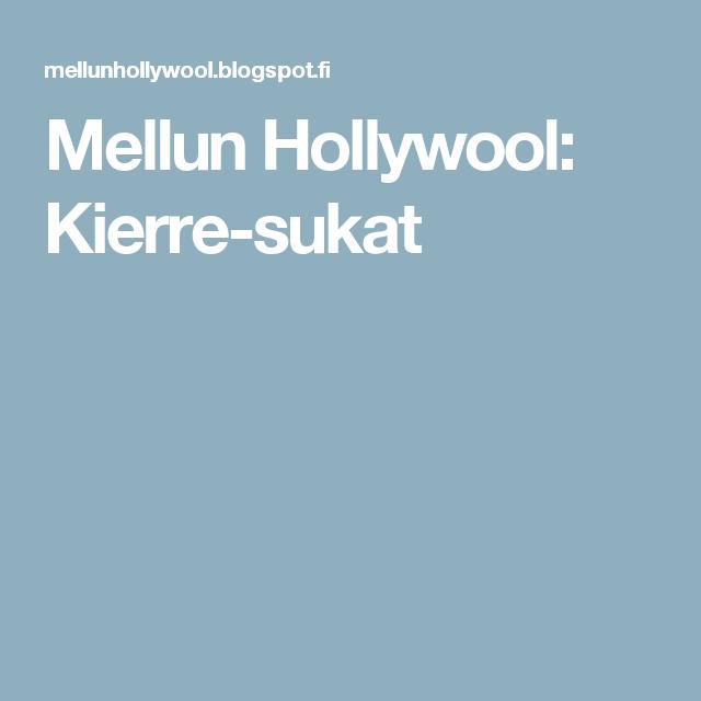 Mellun Hollywool: Kierre-sukat