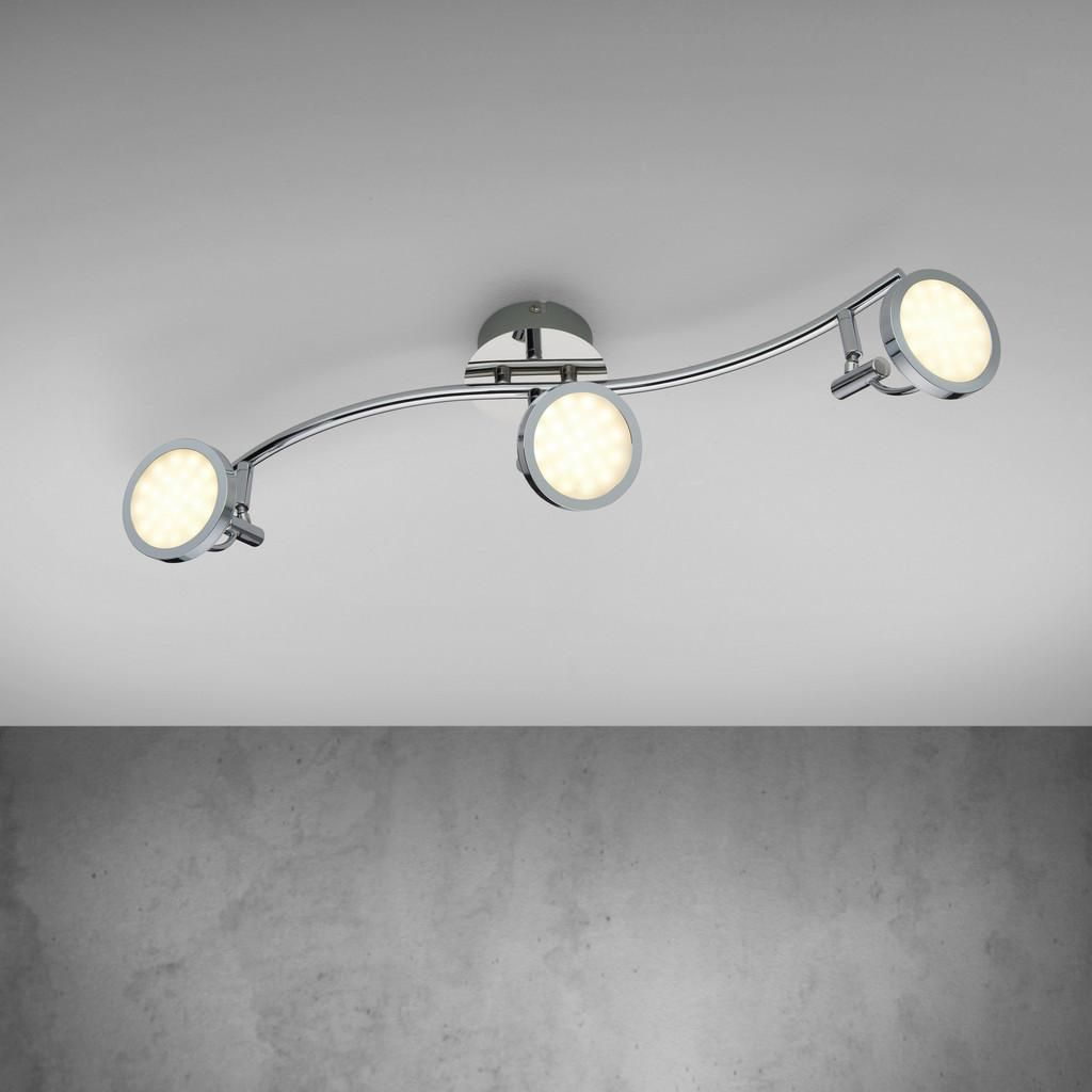 Deckenlampe Badezimmer Deckenleuchten Design Deckenlampe Wohnzimmer Rund Deckenleuchte Led Flach Dimmbar Trio D Ceiling Lights Home Deco Track Lighting