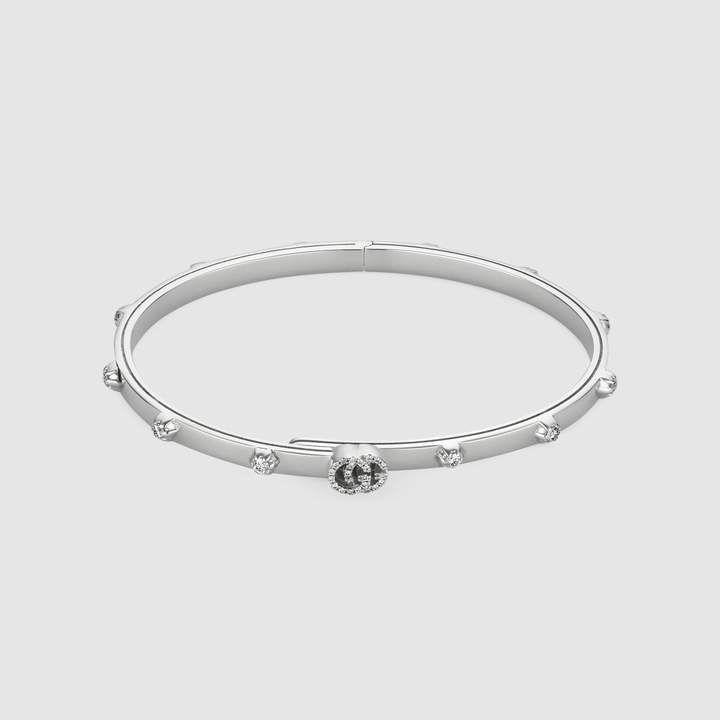 cd030ce6d Gucci GG Running bracelet in white gold | style | White gold ...