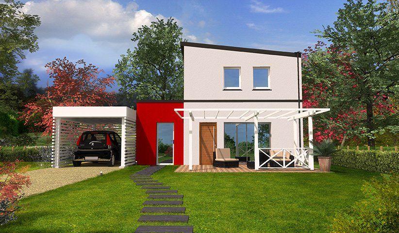 Maison DESIGN à étage 77 m² 3 chambres Villas