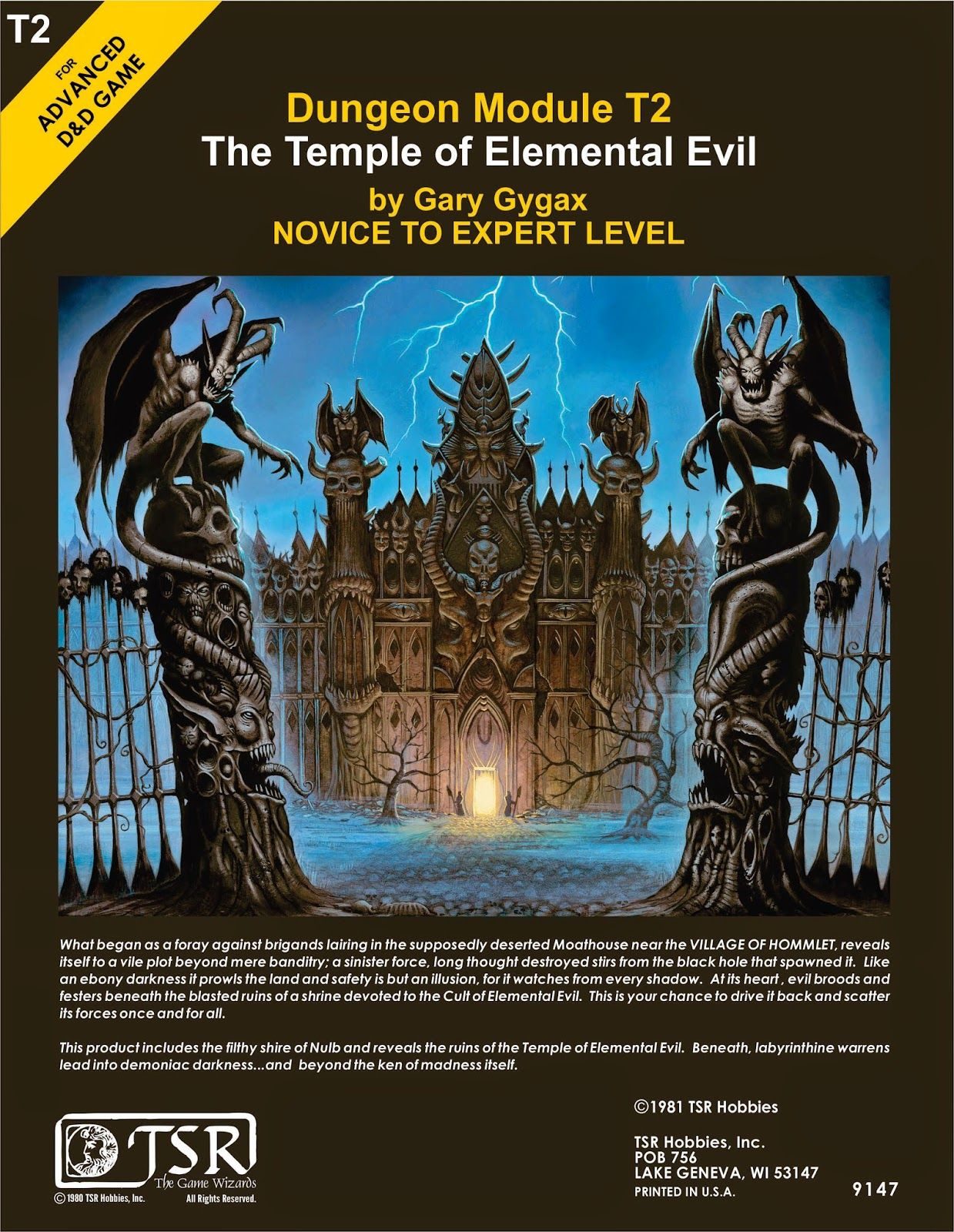 a to z of adventure t is for temple of elemental evil fantasy art
