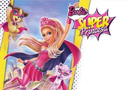 barbie super princesa decoracion  Buscar con Google  Proyectos
