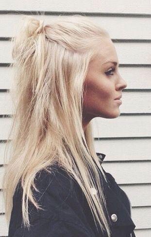 Blonde Bleach hair pinterest